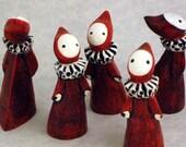 Classic Little Red Poppet -Lisa Snellings