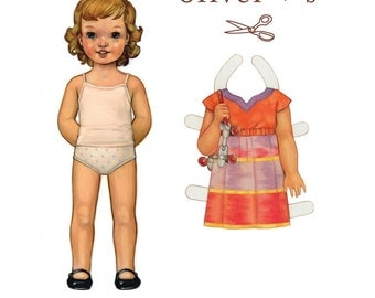 Oliver + S Roller Skate Dress+ Tunic Sewing Pattern Girls Sizes 5-12 Yrs. CUTE!