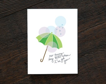 No Rainy Day Blues When I've Got You - Everyday Design (EVD163)