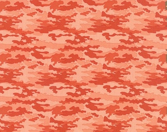 SALE Nomad by Urban Chicks for Moda Camo in Sunset 1 yard