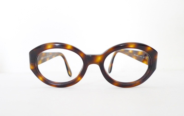Italian Glasses Frame Company : Italian Jackie O Eyeglass Frame Chunky Big Mod Thick Tortoise