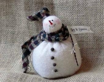 Baby Snowflake Tiny Snowman