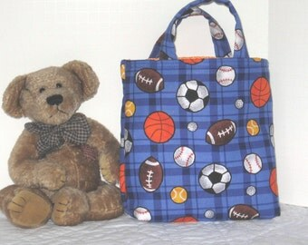 Kid's Korner - Play Ball Bag - 50% of sale is donated to Project Linus
