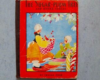 1930 Fern Bisel Peat Sugar Plum Tree Eugene Field Children's Poems, Saalfield Publishing USA