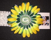GREEN BAY FOOTBALL Flower Headband ... All other teams available
