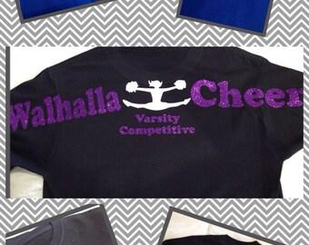 Longsleeve custom cheer shirt