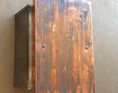 Arizona Wide Plank - Copper Light Sconce