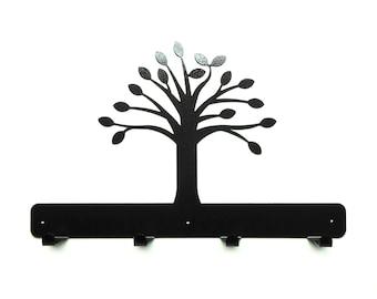 Tree Metal Art Coat Rack - Free USA Shipping