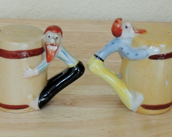 Hill Billy Salt and Pepper Shakers made in Japan