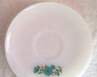 Vintage Fire king saucer / teacup saucer