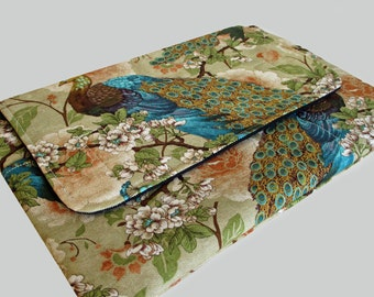 Surface Book Case, Microsoft Surface Case, Surface Sleeve, Surface Cover, Surface Pro 2 3 4 RT Case Stunning Peacock