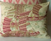 Brunschwig & Fils set of 3 pillow covers