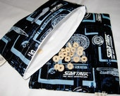 Star Trek NG Sandwich and Snack Bag Set, Reusable