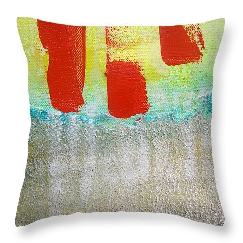Modern Abstract Pillow : Throw Pillow Artsy Throw Pillow abstract modern look pillow