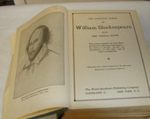The complete works of Shakespeare with temple notes