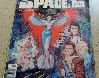 Space 1999 Comic Book dated October 1976 Vol 2 No 8