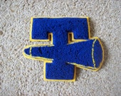 Letter T and Megaphone Patch Cheerleader Sweater Patch