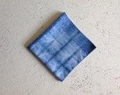 indigo dyed handkerchief bandana pocket square