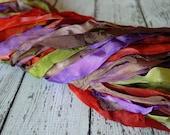NeW- Hand Dyed GYPSY ROAD half inch ribbon, 5 yards