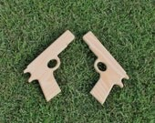 Wood Toy Guns