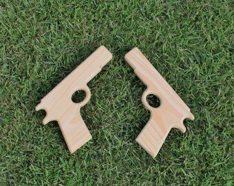 Wood Play Prop Guns