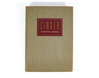1949 Singer Sewing Book