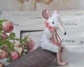 "Miniature animal. Tiny Rat Series. Miniature bjd rats of different colors, boys and girls 4"""