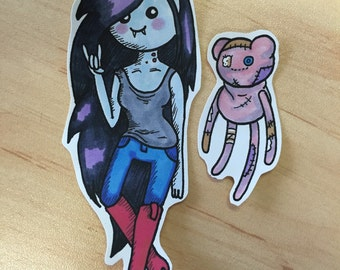 Adventure Time Character Stickers