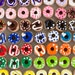 Polymer Clay Donuts, Set of 10