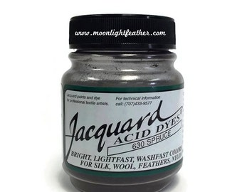 Feather, silk, wool, cashmere and Yarn Dyes - SPRUCE Jacquard Acid Dyes - 1/2 Oz : 3736