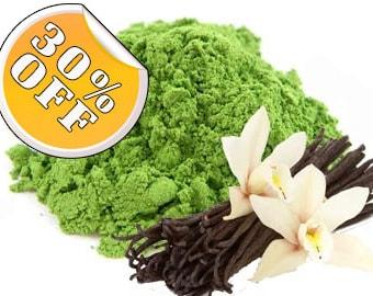 French Vanilla Matcha Tea (Organic)  - 30g