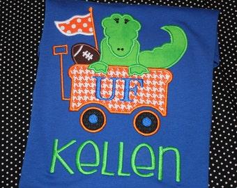 Florida gators football tshirt- personalized