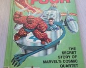 1981 Fantastic Four comicbook style hardcover book