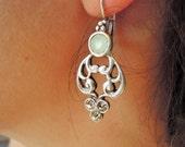 Boho Earring , Chandelier Earrings , Beaded Earrings , FREE SHIPPING, Gypsy Earring , Ethnic Eraring,  Gypsy Jewelry , Bohomien Earring