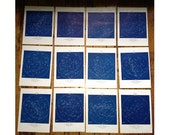 1928 set of 12 constellation monthly star maps original vintage celestial astronomy prints