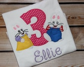 Personalized Max and Ruby Birthday Shirt with Number