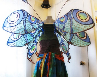 Art Nouveau Dragonfly Strapless Faerie Wings