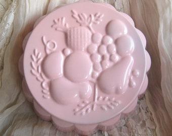 Shabby Chic Pink Wall Display Dish Mold Jello