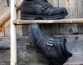 Polo by Ralph Lauren, 90's moto style boot, men's size 9 1.2