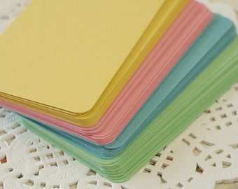 50pc ROMANTIC Vintage Series Business Card Blanks