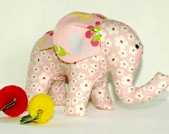 Soft Toy pattern, Plushie pattern, Sewing baby pattern, Stuffed toy pattern, Plush sewing pattern - Mimi the Elephant Sewing pattern (S120)