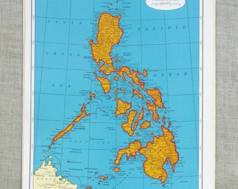 Map of Philippines , Maps , Korea , Asia , Island , South Korea , North Korea Map , Colorful , Geography , Art Supplies ,Asian ,Scrapbooking