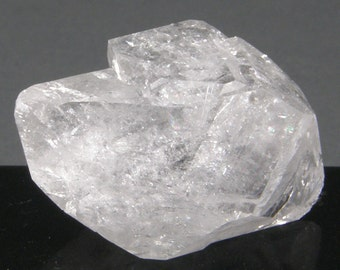 1.8 Inch Clear Quartz Crystal Double Terminated Point Cluster, CQ2261