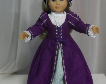 "Renaissance outfit for your American Girl by ""CarmelinaCreations"""