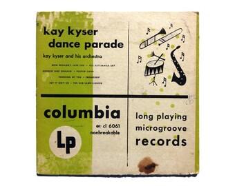 "Jim Flora (attributed) 10-inch record album design, 1949. Kay Kyser ""Dance Parade"" LP"