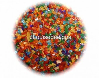PRIMARY SUGAR CRYSTALS Edible Sprinkles Cake,Cakepops, Cookies and Cupcake Sprinkles Confetti Decorations