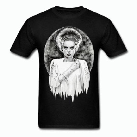 The Bride of Frankenstein Tee shirt