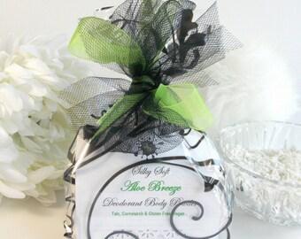 ROSE PETALS deodorant  body powder 6 oz - refill - floral dusting powder by Bonny Bubbles