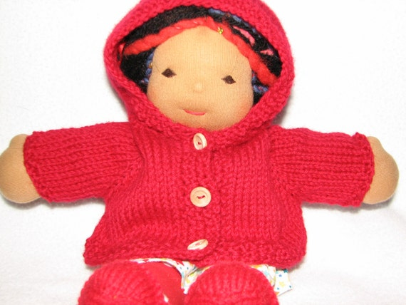 Doll Sweater Hoodie / Hooded / with a Hood - MADE to ORDER