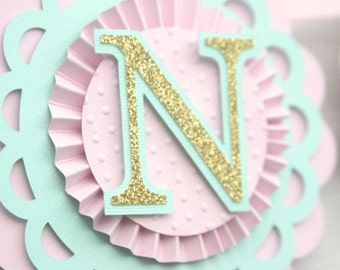 Custom nursery banner, name banner, baby's name banner, baby shower banner, girl's baby shower, 1st birthday banner, first birthday, nursery